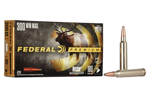 Federal Premium Nosler Partition