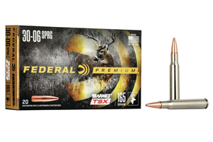 Federal Premium Barnes Triple-Shock X