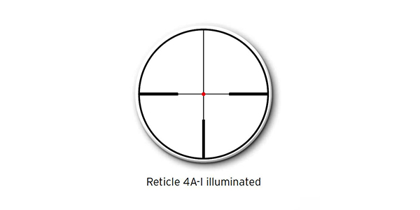 600x300 Steiner Reticle 4A-I illuminated
